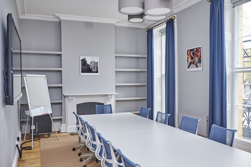 Newly refurbished meeting rooms