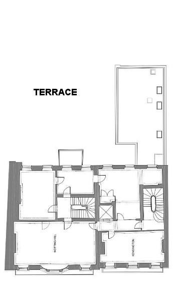 Floor Plan for Russell Square First Floor