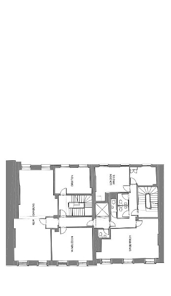 Floor Plan for Russell Square Second Floor