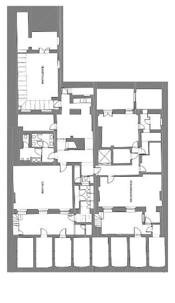 Floor Plan for Russell Square Basement